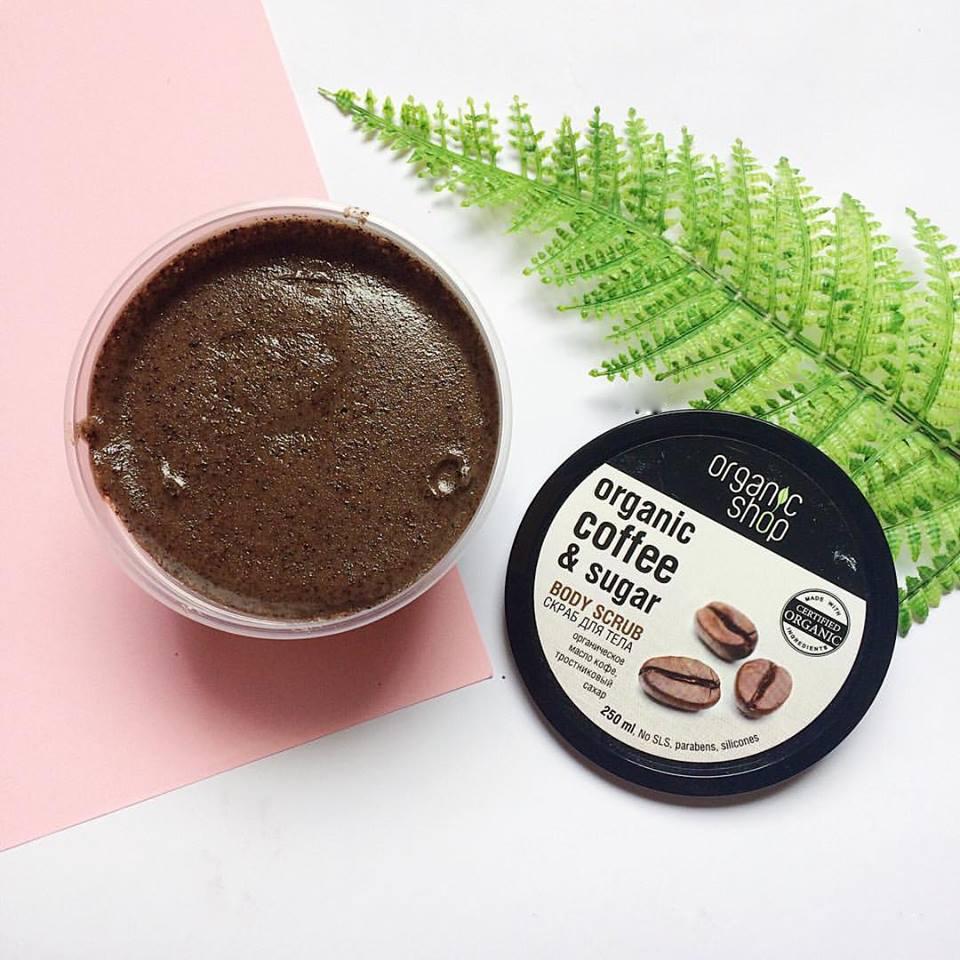 Tẩy tế bào chết cơ thể Organic Shop Coffee & Sugar Body Scrub – Bonita  Cosmetic Shop