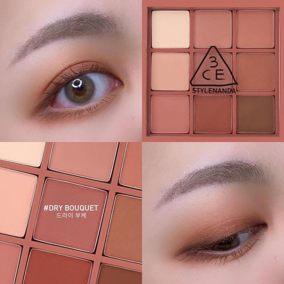 Bảng phấn mắt 3CE Multi Eye Color Palette #Dry Bouquet – Bonita ...