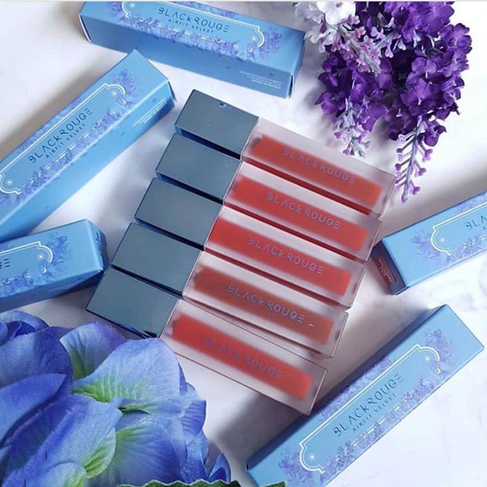 Son Kem Black Rouge Air Fit Velvet Tint Ver 6 – Blueming Garden – Bonita  Cosmetic Shop