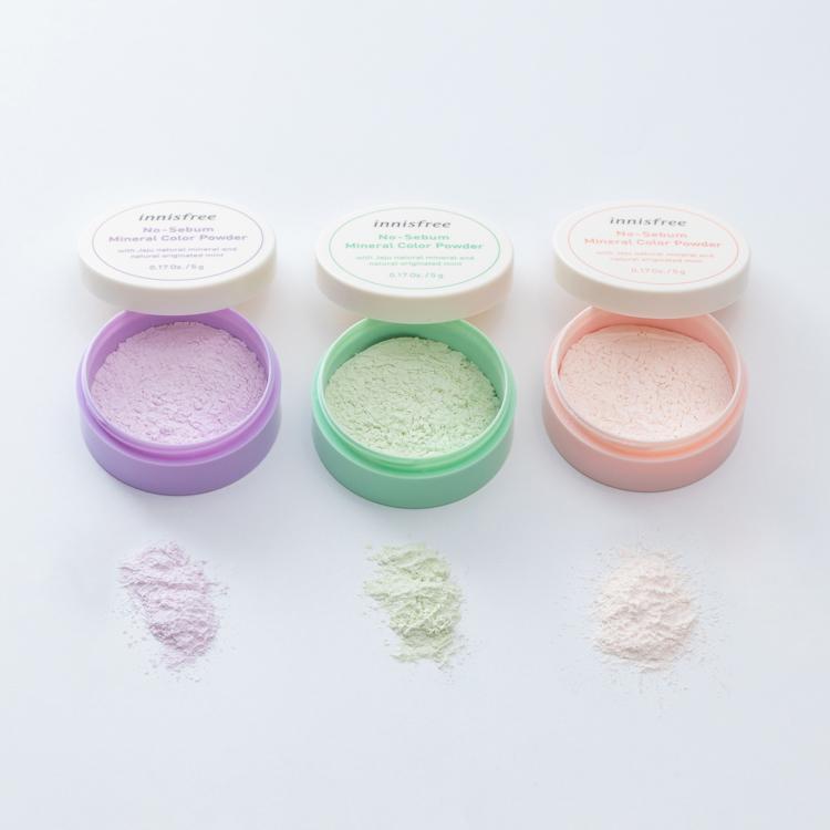 Phấn Phủ Kiềm Dầu Dạng Bột Khoáng Có Màu Innisfree No Sebum Mineral Color  Powder (5g) – Bonita Cosmetic Shop